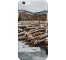 Yosemite Logs iPhone Case/Skin