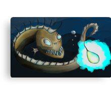 Angler Eel Canvas Print