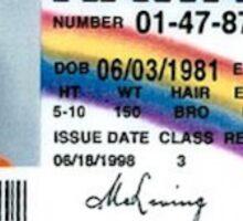 McLoven ID - SuperBad Sticker