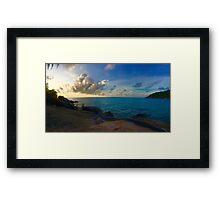 Sunrise in Ko Phangan Framed Print