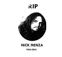 Nick menza  Photographic Print