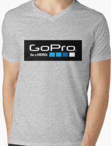 GoPro - Be A Hero Mens V-Neck T-Shirt