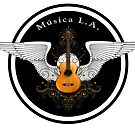 Musica L.A. Guitar Logo  by Larry3
