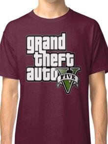 GTA V 5 Five AB2 Classic T-Shirt