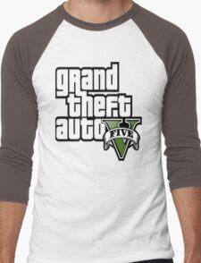 GTA V 5 Five AB2 Men's Baseball ¾ T-Shirt