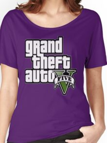 GTA V 5 Five AB2 Women's Relaxed Fit T-Shirt