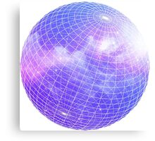 Space Globe Canvas Print