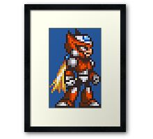 Zero Framed Print