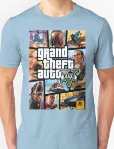 GTA V 5 Five AB3 Unisex T-Shirt