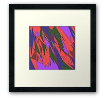 Retro Abstract Framed Print