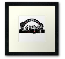 Manchester United FA Cup Winners 2016 Framed Print