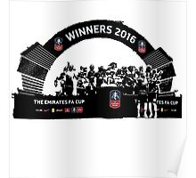 Manchester United FA Cup Winners 2016 Poster