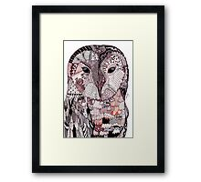 Wise Owl Framed Print