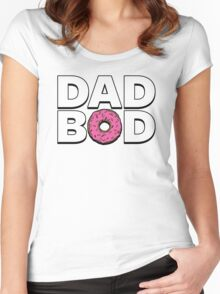 Dad Bod Women's Fitted Scoop T-Shirt