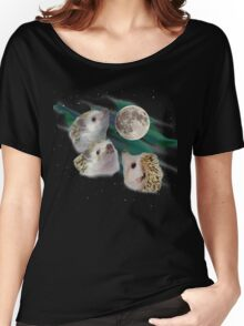 Three Hedgehog Moon Women's Relaxed Fit T-Shirt