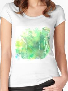 Silent Grove Women's Fitted Scoop T-Shirt