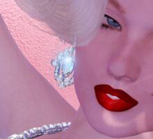 Diamonds are a girl's best friend! Sticker