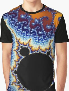 Psychedelic Fractal Swirl Graphic T-Shirt