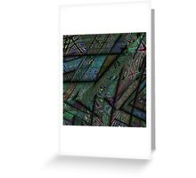 Fractal Graffiti 2 Greeting Card