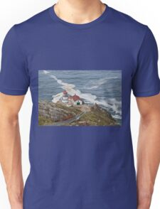 Stairway Leading to Point Reyes Lighthouse Unisex T-Shirt