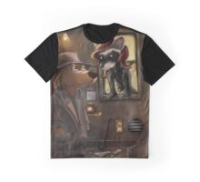 Private Detective Frank Graphic T-Shirt