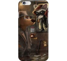 Private Detective Frank iPhone Case/Skin