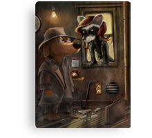 Private Detective Frank Canvas Print