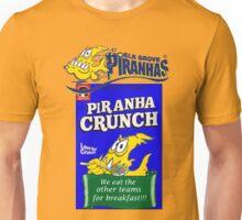 Piranhas breakfast Unisex T-Shirt