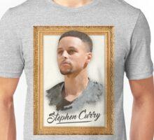 Stephen Steph Curry Basketball Digital Painting Art Unisex T-Shirt
