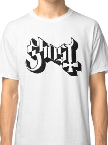 Ghost (Ghost BC) White/Black HD Logo Classic T-Shirt