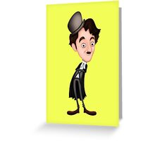 Charlie Chaplin Greeting Card