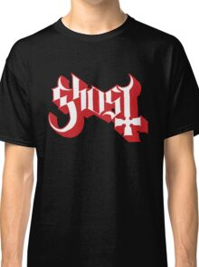 Ghost (Ghost BC) Red HD Logo Classic T-Shirt