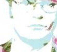 Dwight Floral Sticker