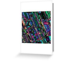 Fractal Graffiti 3 Greeting Card