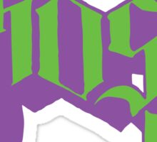 Ghost (Ghost BC) Green/Purple HD Logo Sticker