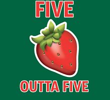 5 Strawberries Outta 5 Unisex T-Shirt