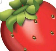 5 Strawberries Outta 5 Sticker