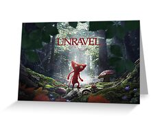 Unravel Greeting Card