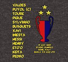 Barcelona 2009 Champions League Final Winners Unisex T-Shirt