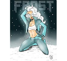 Frost Pin-Up  Photographic Print