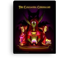 The Clockwork Chronicles (Cover 1) Canvas Print