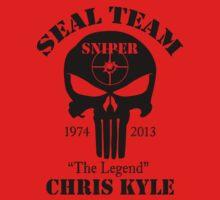 seal team sniper The Legend chris kyle One Piece - Short Sleeve