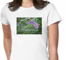 Featured Banner Challenge for Bubbling Artists Womens Fitted T-Shirt