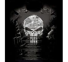 The Punisher Vest Photographic Print