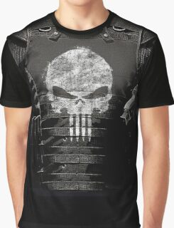 The Punisher Vest Graphic T-Shirt