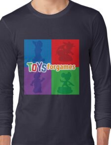 Toys For Games Logo Long Sleeve T-Shirt