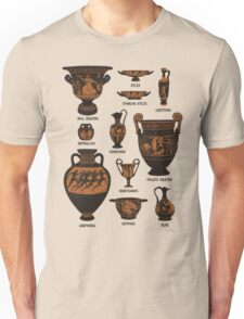 Ancient Greek Pottery Unisex T-Shirt