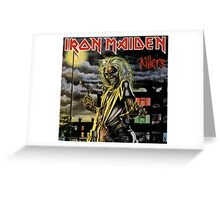 Iron Maiden Killers Greeting Card