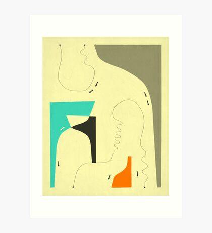FIRST IMPRESSIONS Art Print