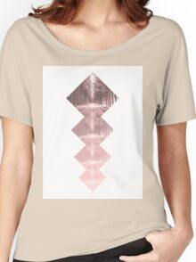Forest Squares Women's Relaxed Fit T-Shirt